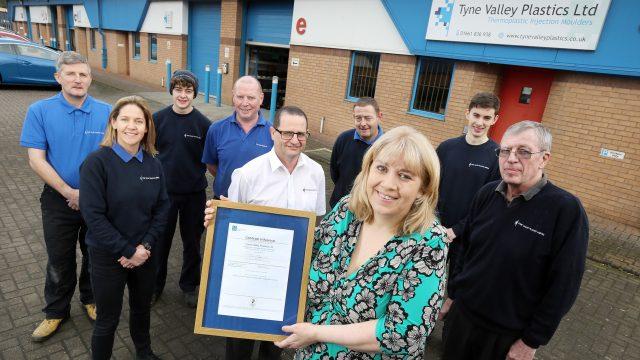 Tyne Valley Plastics Team
