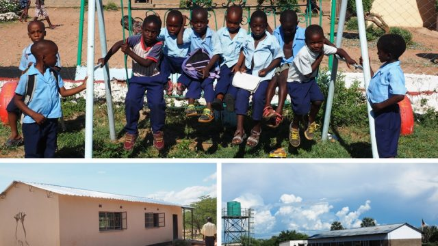 zambia school and children