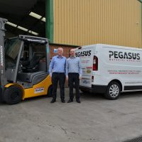 Forklift truck company spreads its wings